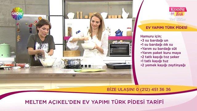Ev yapımı Türk pidesi