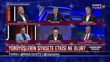 Habertürk Gündem - 21 Haziran 2020 (Baroların yürüyüş kararının siyasete etkisi ne olur?)