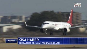 Bombardier CRJ uçak programını sattı