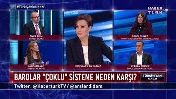 """Türkiye'nin Nabzı - 22 Haziran 2020 (Barolar """"çoklu"""" sisteme neden karşı?)"""