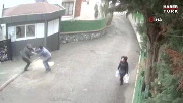 Kartal'da kayınpeder cinayeti kamerada