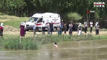 Ayağını suya sokmak isteyen 15 yaşındaki çoban düştüğü Dicle Nehri'nde can verdi