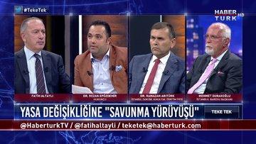 Teke Tek - 23 Haziran 2020 (Barolar neden Ankara'ya yürüdü, TBB Başkanı yürüyüşe neden katılmadı?