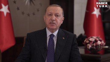 Türkiye Cumhurbaşkanı Recep Tayyip Erdoğan'ın Kore Savaşının 70. yıl dönümü mesajı