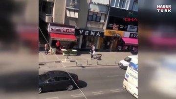 İzmir'de 2 grup arasında çekiçli sopalı kavga