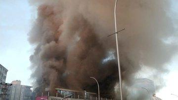 Batman'da AVM'de büyük yangın!