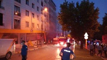 İstanbul'da bir binada patlama!