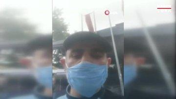 Polis ile vatandaş arasında maske tartışması