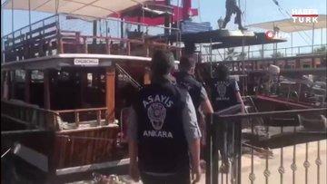 Ankara Emniyetinden 'Marina' Operasyonu