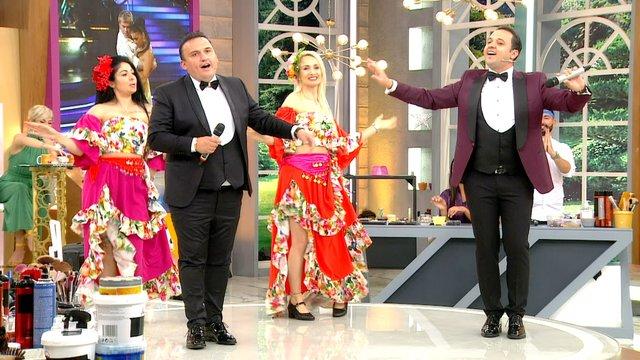 Rumeli Orhan ve Kemal kardeşler sahnede!