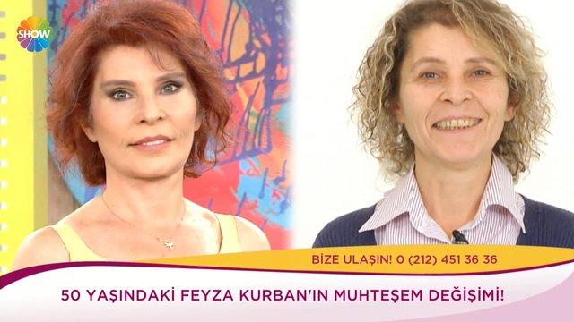 Feyza Kurban'ın büyük değişimi!
