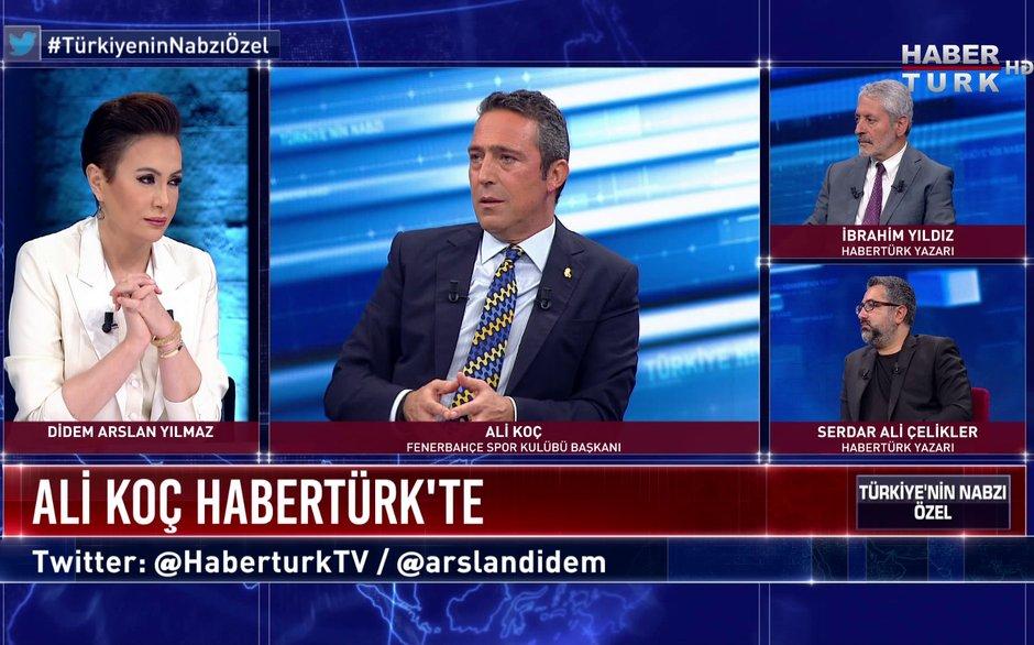 Türkiye'nin Nabzı Özel - 1 Temmuz 2020 (Fenerbahçe Spor Kulübü Başkanı Ali Koç Habertürk'te)
