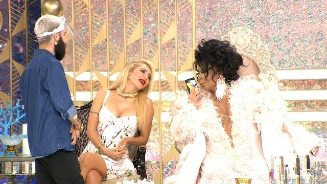 Diva, Tuna'nın kız arkadaşıyla konuştu!