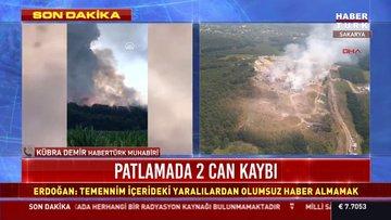 Sakarya'da havai fişek fabrikasında patlama! İşte son durum...