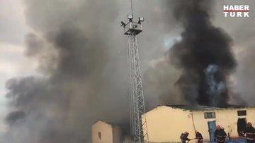 Hendek'teki patlamadan yeni görüntüler