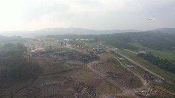 Patlama olan havai fişek fabrikasındaki arama kurtarma çalışmalarına tekrar başlandı