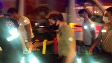Kavga ettikleri arkadaşını balkondan aşağı attılar