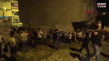 """Arnavutköy'de merak """"sosyal mesafeyi"""" yok etti"""