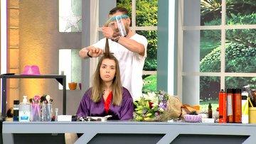 Ali, Almira'ya sormadan saçını kesti!