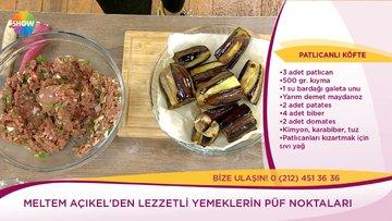 Patlıcanlı Köfte tarifi