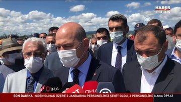 İçişleri Bakanı Soylu'dan açıklamalar