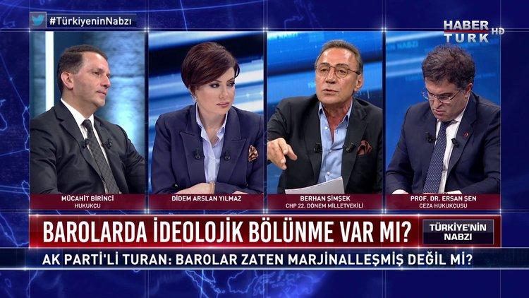Türkiye'nin Nabzı - 8 Temmuz 2020 (Barolarda ideolojik bölünme var mı; barolar marjinal mi, değil mi?)