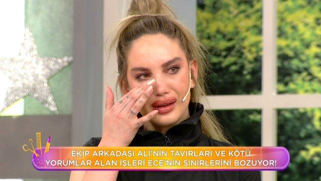 Elenme korkusu Ece'nin ağlamasına neden oldu!