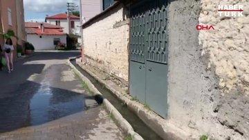 Balıkesir'in şanslı sokakları; evlerinin önünden 'çay' akıyor