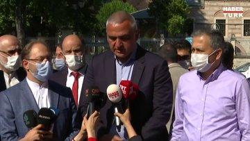 Kültür ve Turizm Bakanı Ersoy: İnşallah 24 Temmuz'da cuma namazına hazır hale getireceğiz