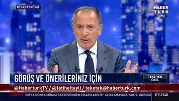 Davutoğlu Habertürk'te konuştu