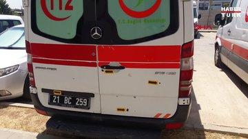 Doğum ihbarına giden ambulansa 8 kurşunlu saldırı