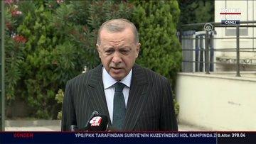 Son dakika haberi Cumhurbaşkanı Erdoğan'dan Ayasofya açıklaması