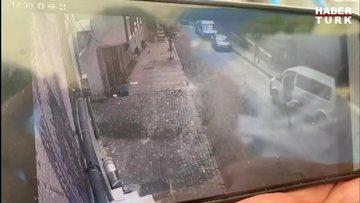 Bağcılar'da polisi şehit eden saldırı anı kamerada!