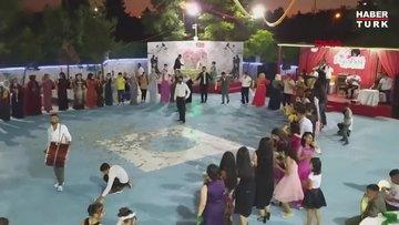 Diyarbakır'da uyarılara rağmen düğünde 70 kişi kol kola halay çekti