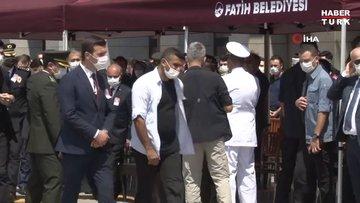 Şehit polis Erkan Gökteke için emniyette tören düzenleniyor
