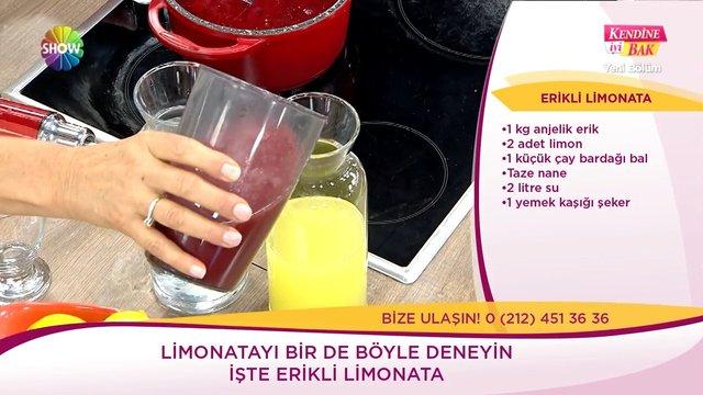Erikli limonata
