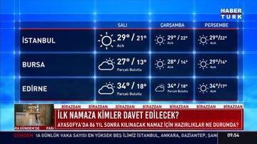 Meteoroloji'den Karadeniz için sağanak ve fırtına uyarısı