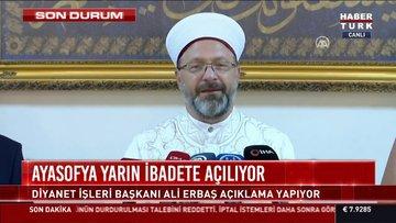 Son dakika! Ayasofya Camisi'nin imam hatip ve müezzinleri açıklandı