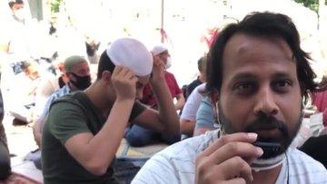 Ayasofya-i Kebir Camiinin açılış heyecanına yurt dışından gelerek tanıklık ettiler