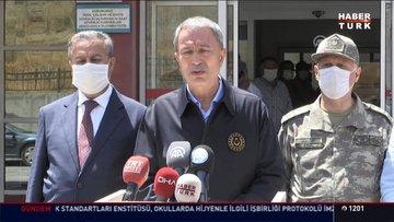Milli Savunma Bakanı Akar'dan açıklamalar