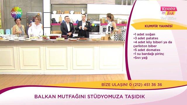 Kumpir yahnisi ve Tatar böreği