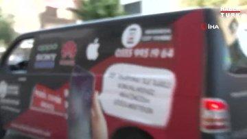 İzmir'de 'mobil tamir aracı' yoğun ilgi görüyor