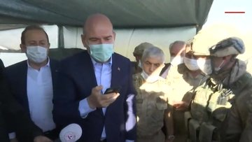 Cumhurbaşkanı Erdoğan, Nuh Peygamber Üs Bölgesindeki askerlerin bayramını kutladı