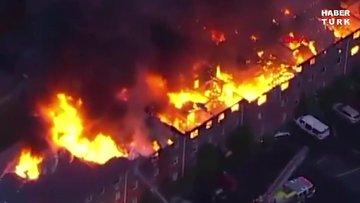 ABD'de dev yangın: 125 kişi evsiz kaldı