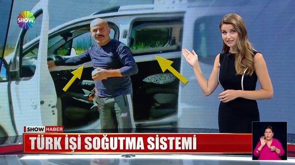 Türk işi soğutma sistemi!