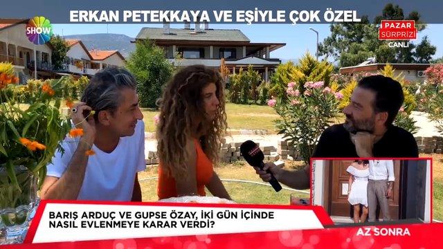 Erkan Petekkaya ile çok özel