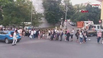Şile dönüşü kapasitesinin 3 katı dolan otobüsteki fazla yolcuları polis indirdi