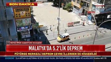 Malatya'da 5,2 büyüklüğünde deprem! İşte ayrıntılar...