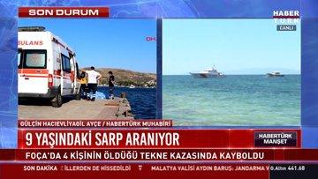 Son dakika haberi! Foça'daki tekne kazasından sağ kurtulan genç, olay anını anlattı