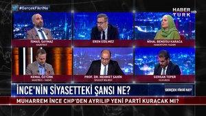 Gerçek Fikri Ne - 4 Ağustos 2020 (Muharrem İnce CHP'den ayrılıp yeni parti kuracak mı?)